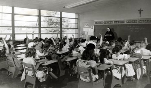 Students in Classroom, 1961