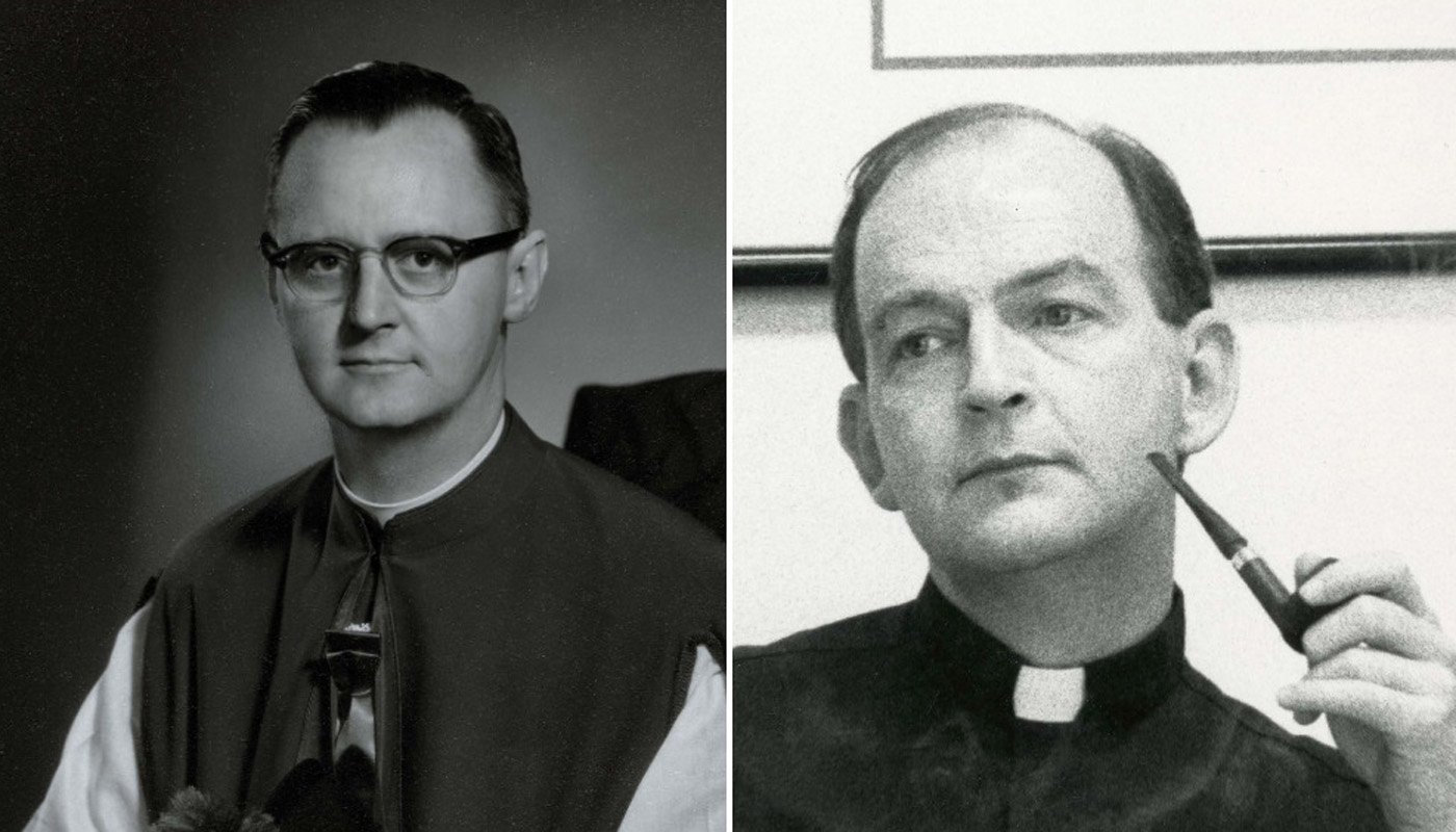 Monsignor George G. Higgins and Father Richard John Neuhaus