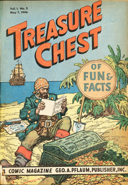 Cover of Treasure Chest of Fun and Facts Volume 1, Number 5