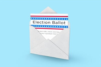 Image of election ballot