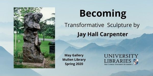 Becoming Sculpture Exhibit Banner
